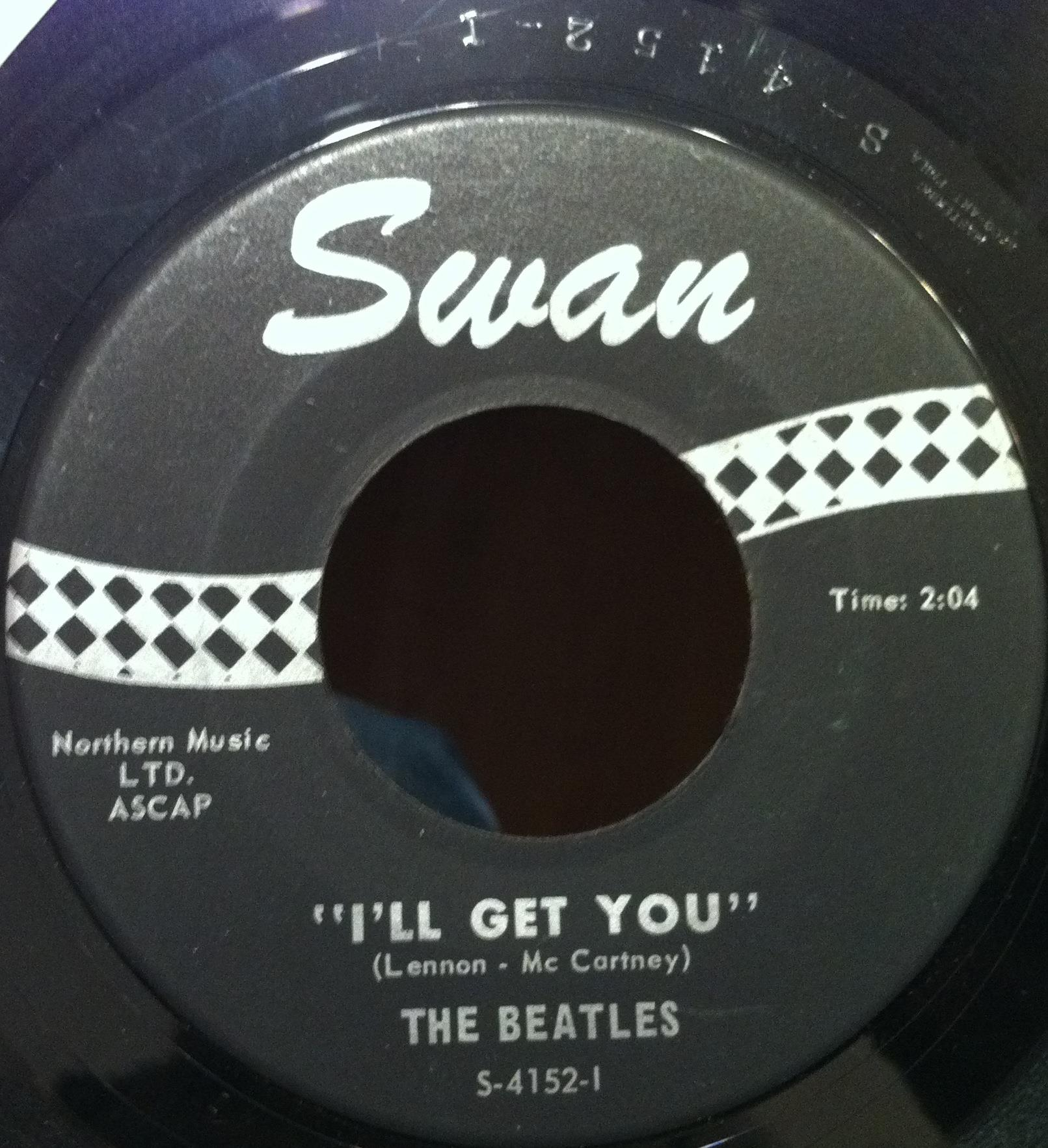 "Beatles - The Beatles She Loves You / I'll Get You 7"" Vg S-4152 Swan 1964 Mono Usa (she Loves You / I'll"