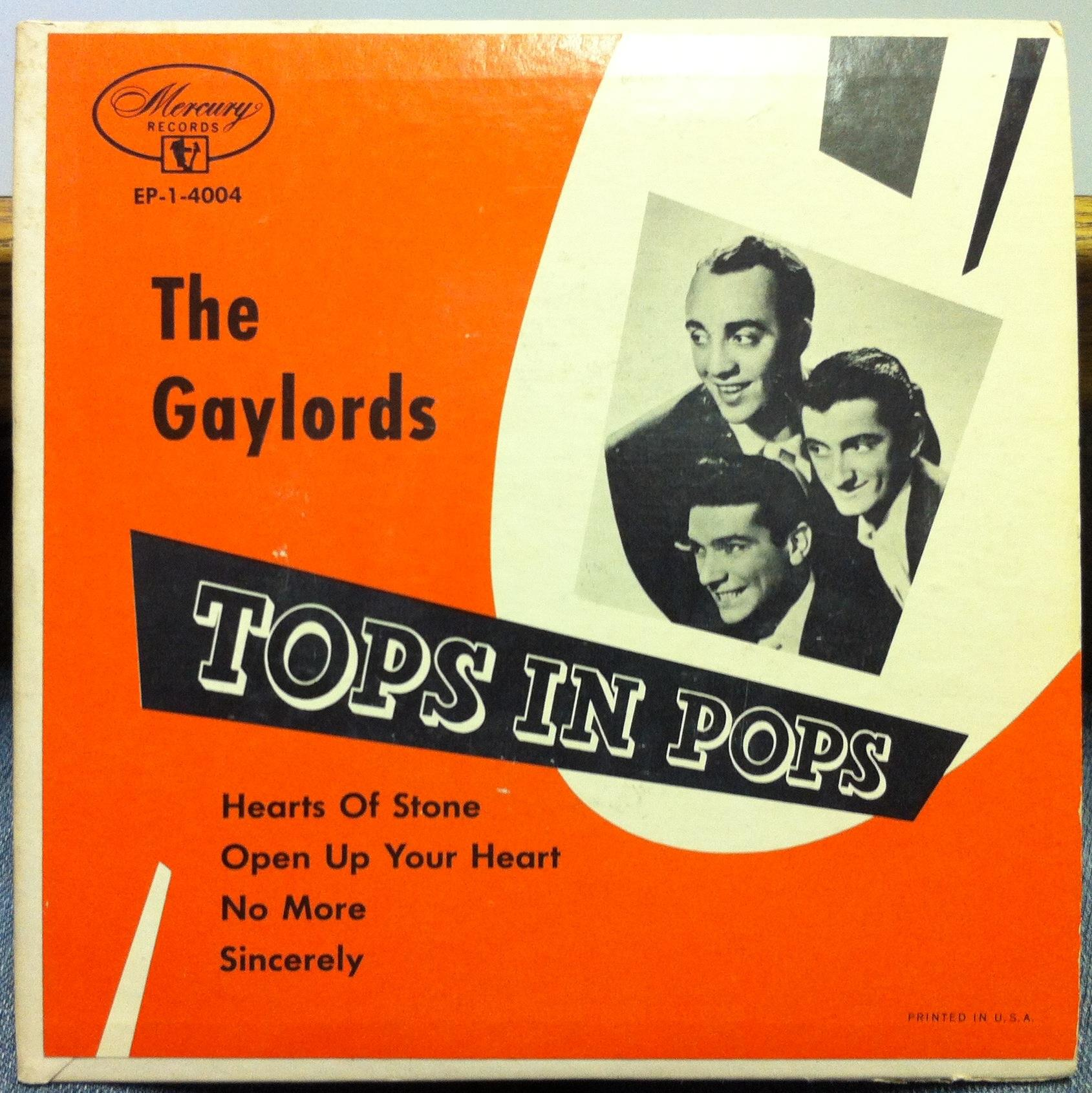 The Gaylords Sing American Hits In Italian