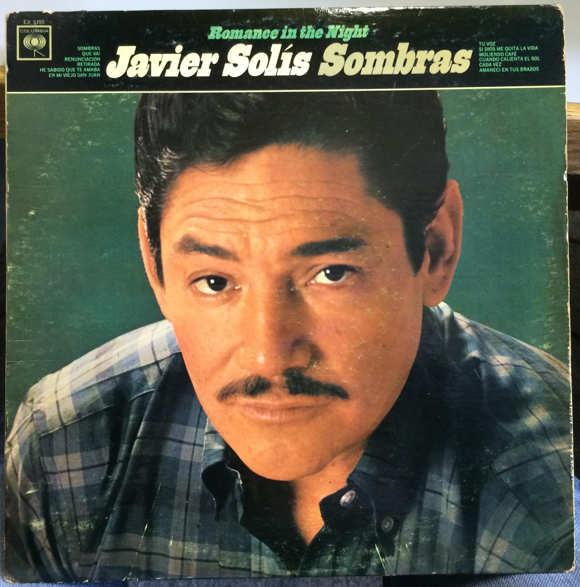 JAVIER SOLIS - Sombras Romance In The Night - LP