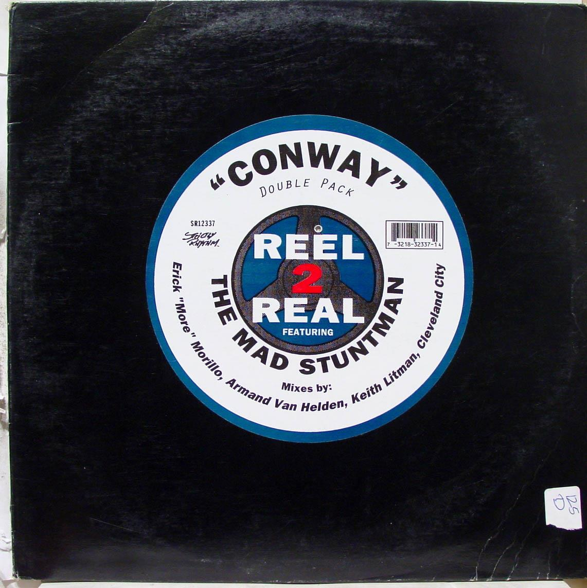 2x 12quot House Reel 2 Real The Mad Stuntman Conway Vg Sr 12337 Vinyl 1995 Record conway