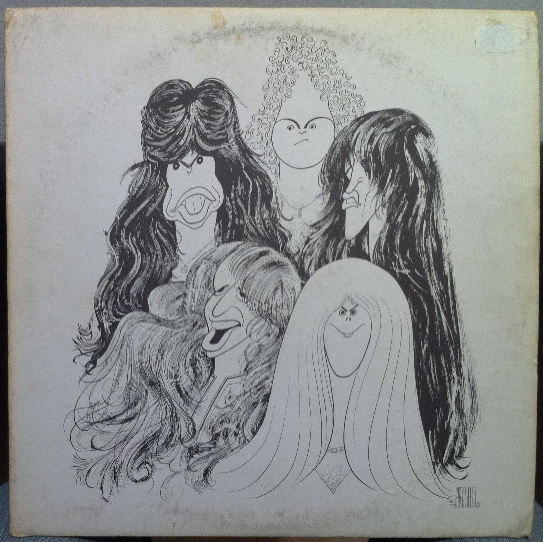 Draw The Line By Aerosmith Lp With Shugarecords Ref 3066035949