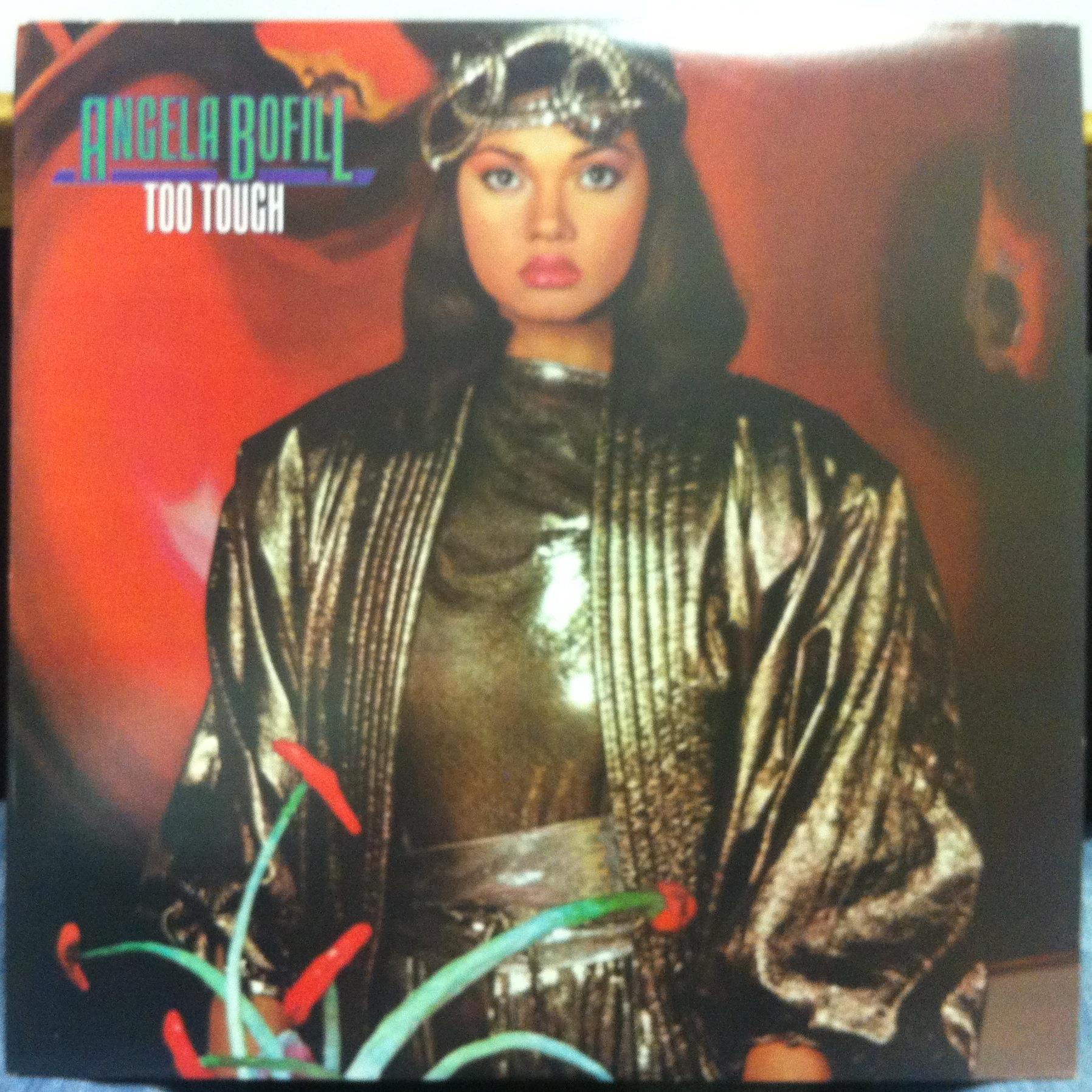 Angela Bofill - Angela Bofill Too Tough Lp Mint- Al 9616 Arista Usa 1983 Original (too Tough)