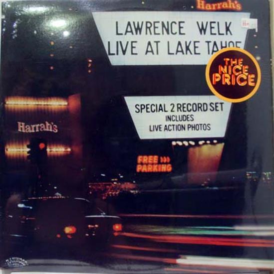 LAWRENCE WELK - Lawrence Welk Live At Lake Tahoe 2 Lp Sealed Ran 10001 Vinyl 1979 Record (live At Lake Tahoe)