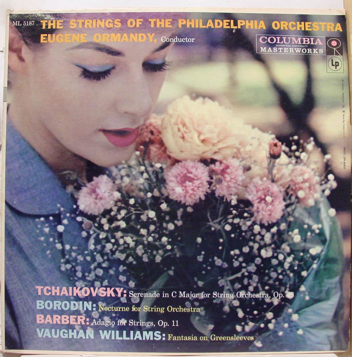 EUGENE ORMANDY - Tchaikovsky Borodin Barber Williams