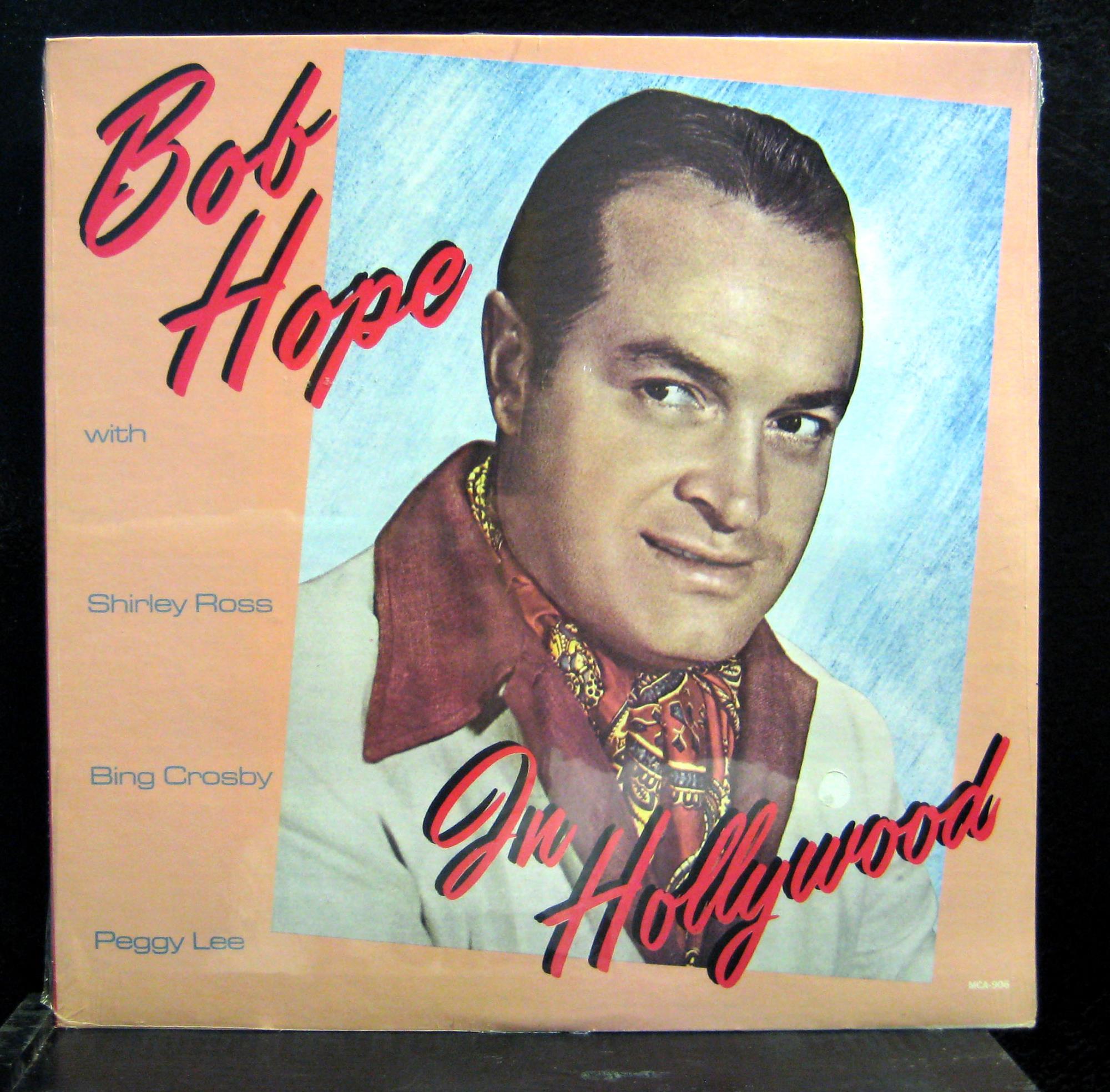 BOB HOPE in hollywood LP Sealed MCA906 Mono Vinyl 1984 Record