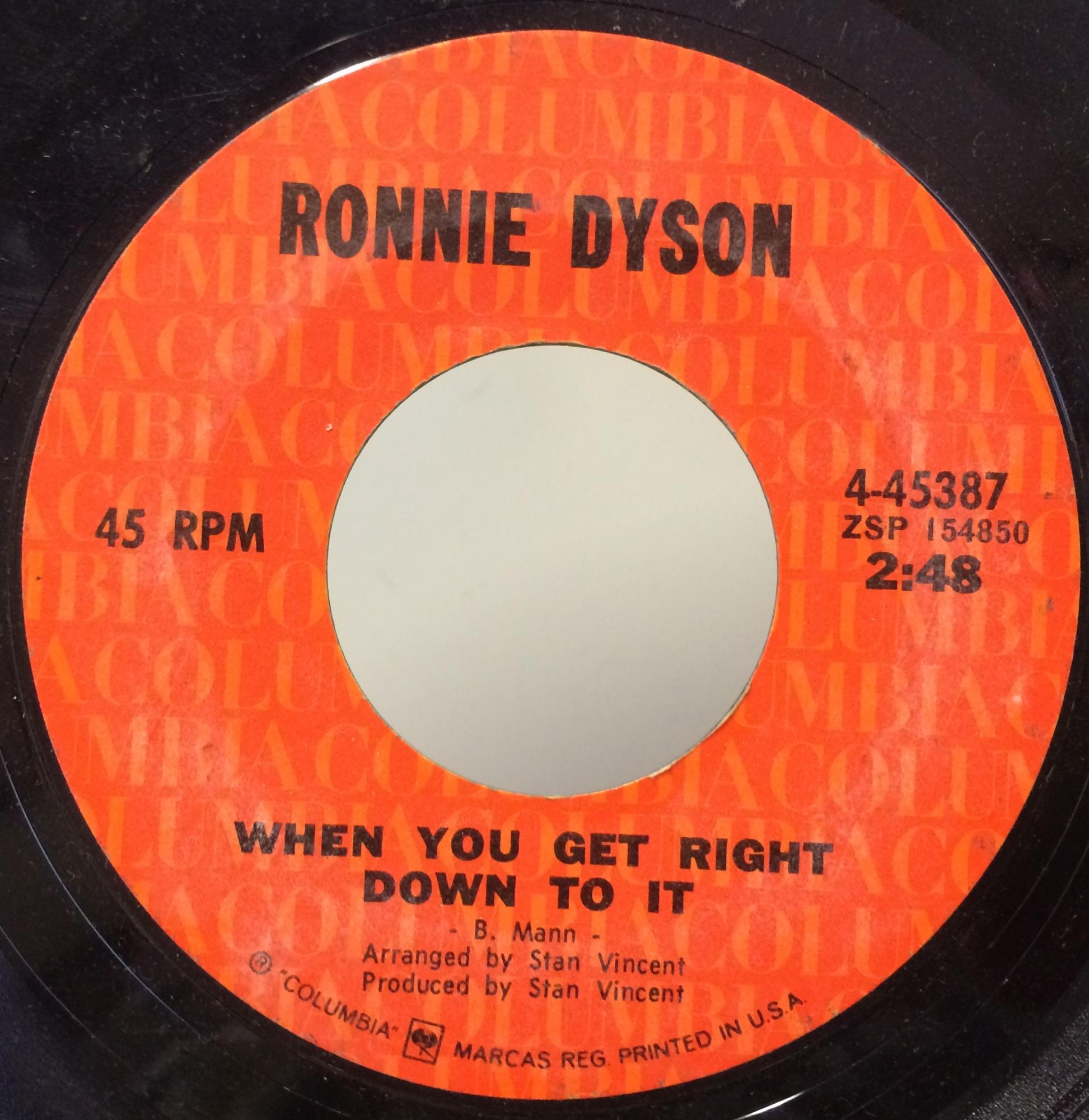 Ronnie Dyson