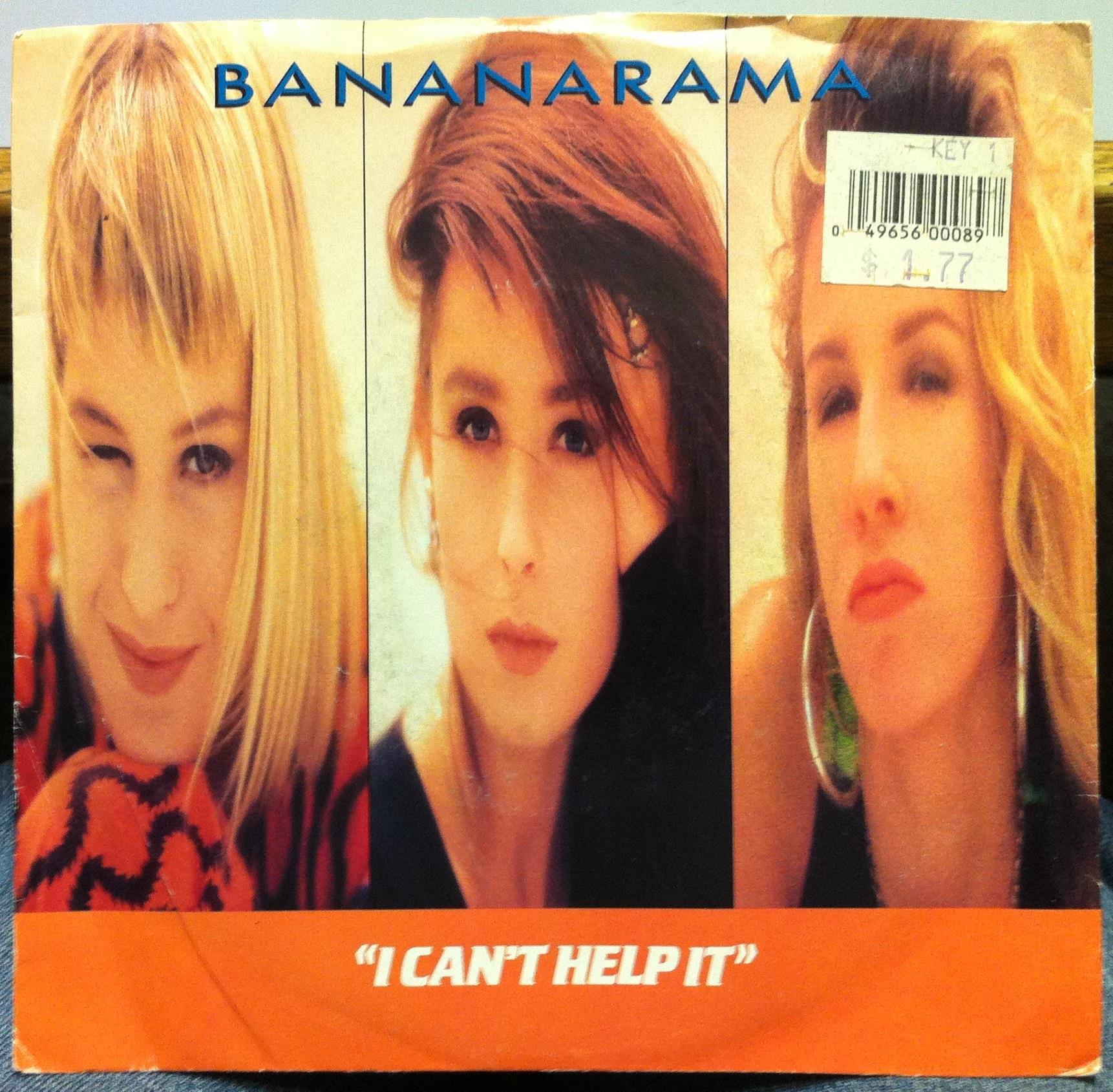 BANANARAMA - I Can't Help It / Mr Sleaze
