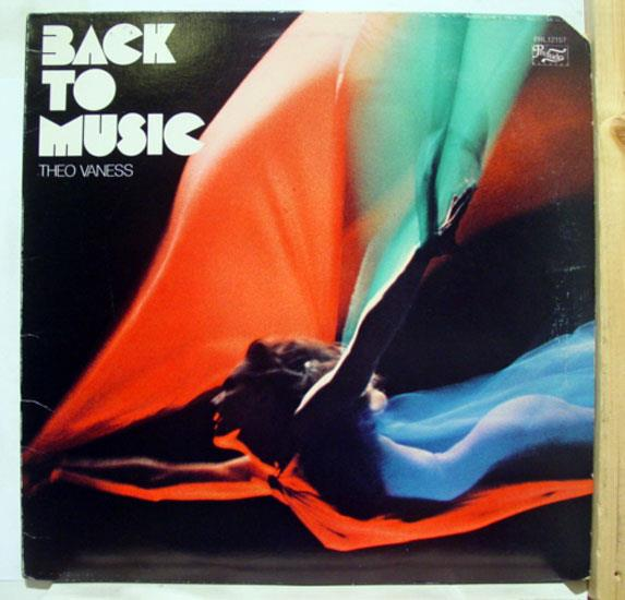 THEO VANESS - Back To Music LP