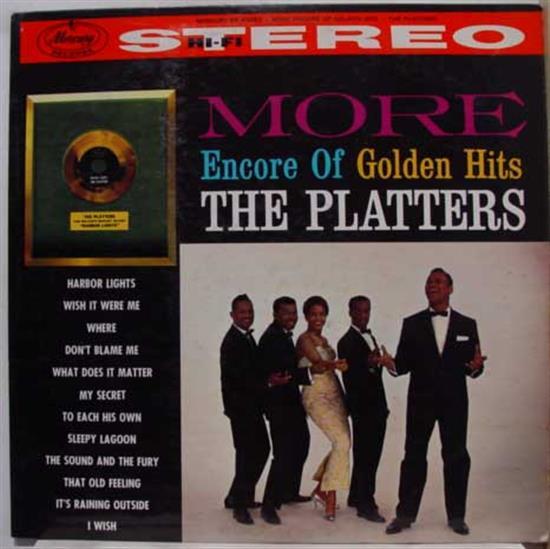Platters The Platters Golden Hits Mercury 135 951 Mcy