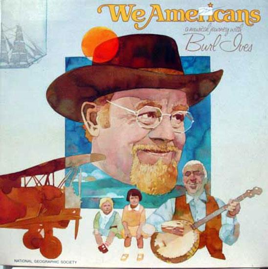 Burl Ives - We Americans Musical Journey With