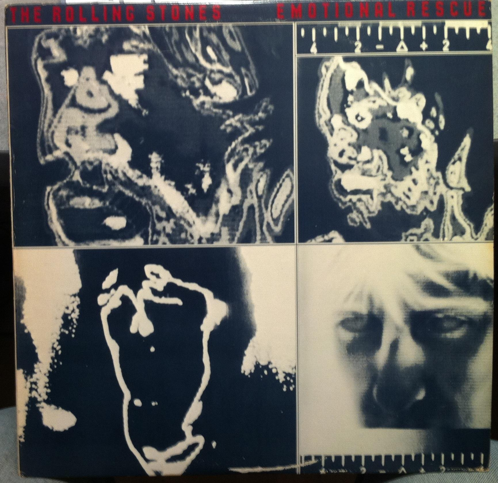 ROLLING STONES - Rolling Stones Emotional Rescue Lp Vg+ W/poster Coc 16015 Sterling Mastered (emotional Rescue)