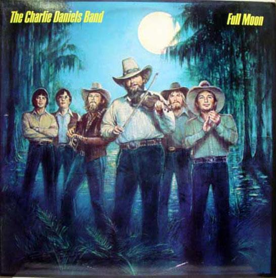 CHARLIE DANIELS BAND - Full Moon Album