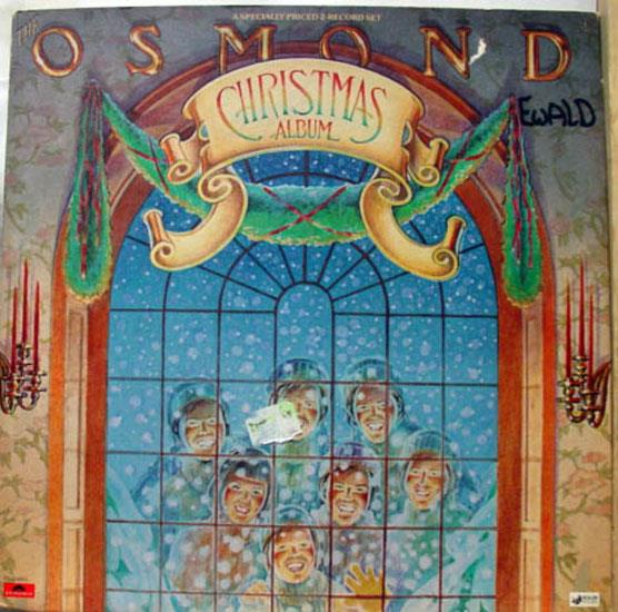 OSMONDS - The Osmonds Christmas Album 2 Lp Vg Pd 2 8001 Vinyl 1976 Record (christmas Album)