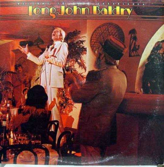 LONG JOHN BALDRY - Long John Baldry Welcome To Club Casablanca Lp Vg+ Nblp 7035 Vinyl 1976 Record (welcome To Club Casa