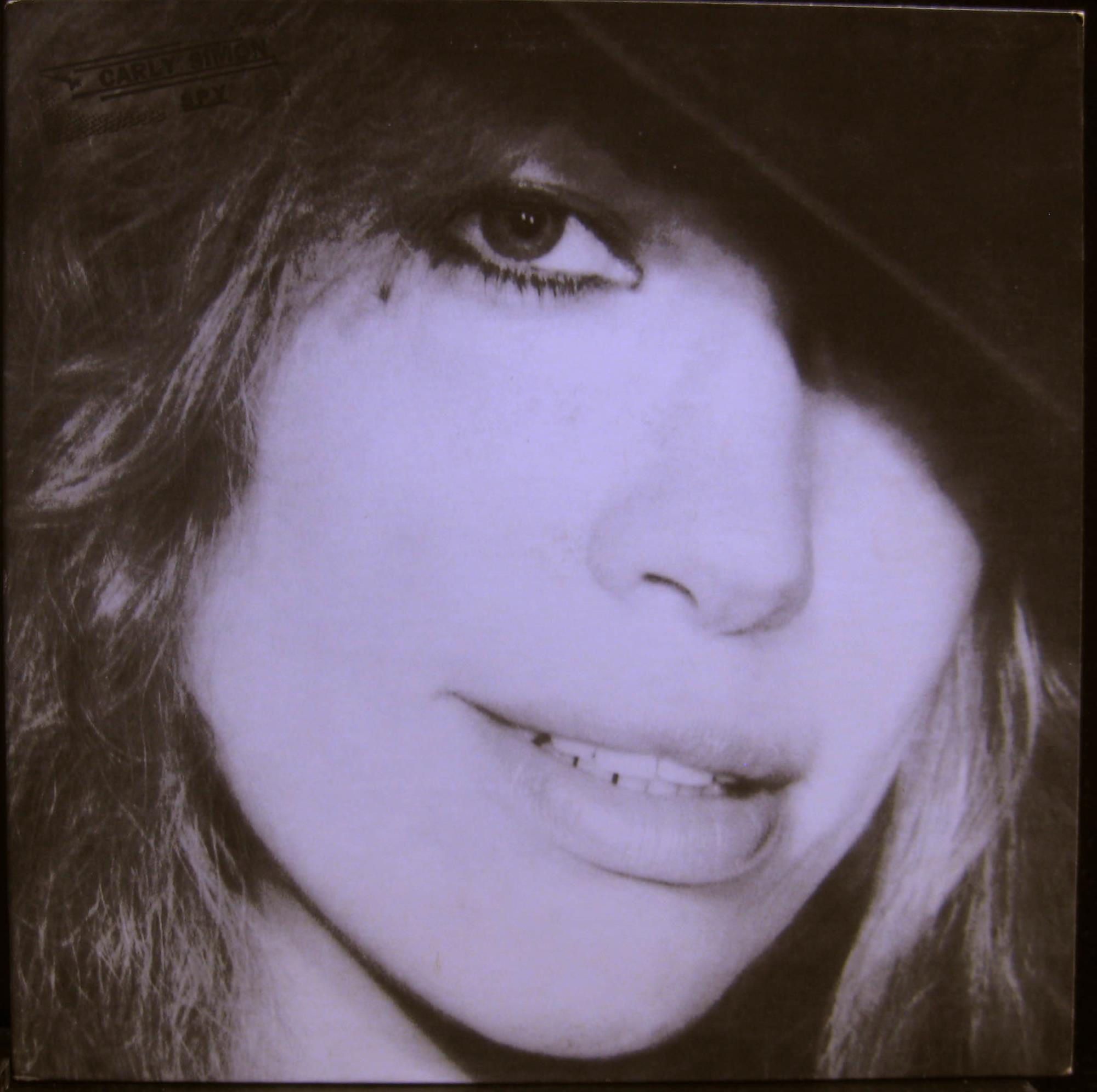 CARLY SIMON - Carly Simon Spy Lp Vg+ 5e 506 Elektra Usa 1979 Original (spy)