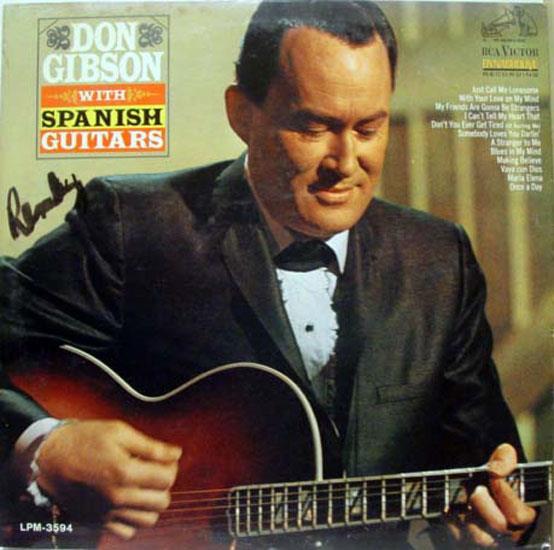 DON GIBSON - Don Gibson Spansih Guitars Lp Mint- Lpm 3594 Vinyl Record (spansih Guitars)