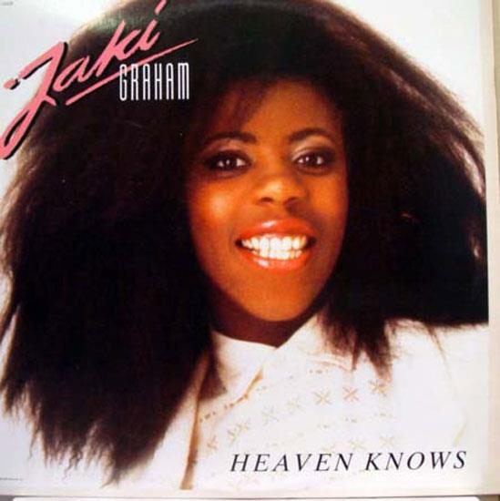 Jaki Graham Heaven Knows Lp Vg