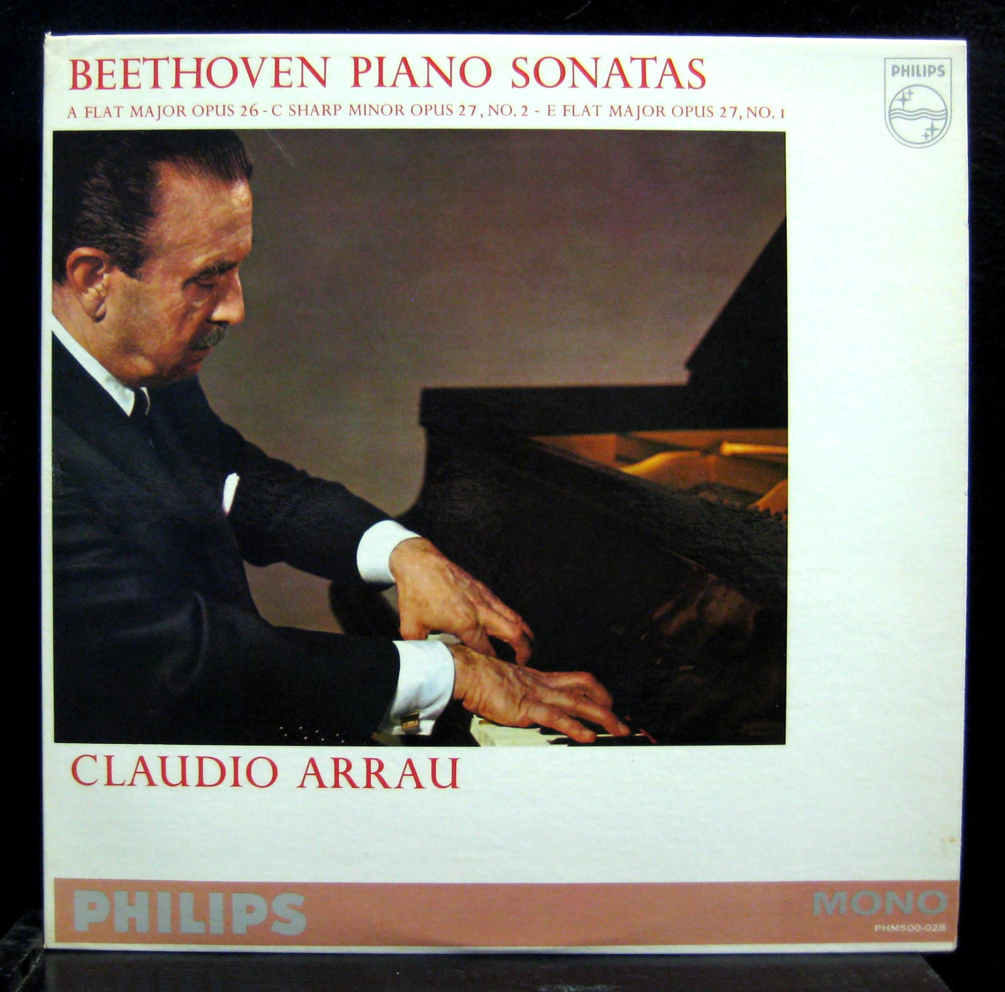 Claudio Arrau Beethoven Piano Sonata No 121314