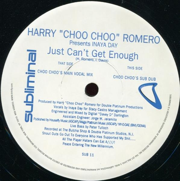 Harry Choo Romero Inaya Day Just Can't Get Enough