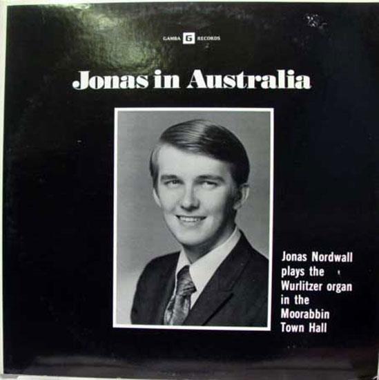 Jonas Nordwall In Australia Lp Mint