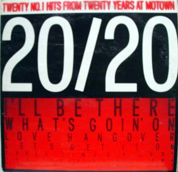 SOUL FUNK COMP - Soul Funk Comp 20/20 Motown No. 1 Hits 2 Lp Vg+ M9-937a2 Vinyl 1980 Record (20/20 Motown No. 1 Hits)