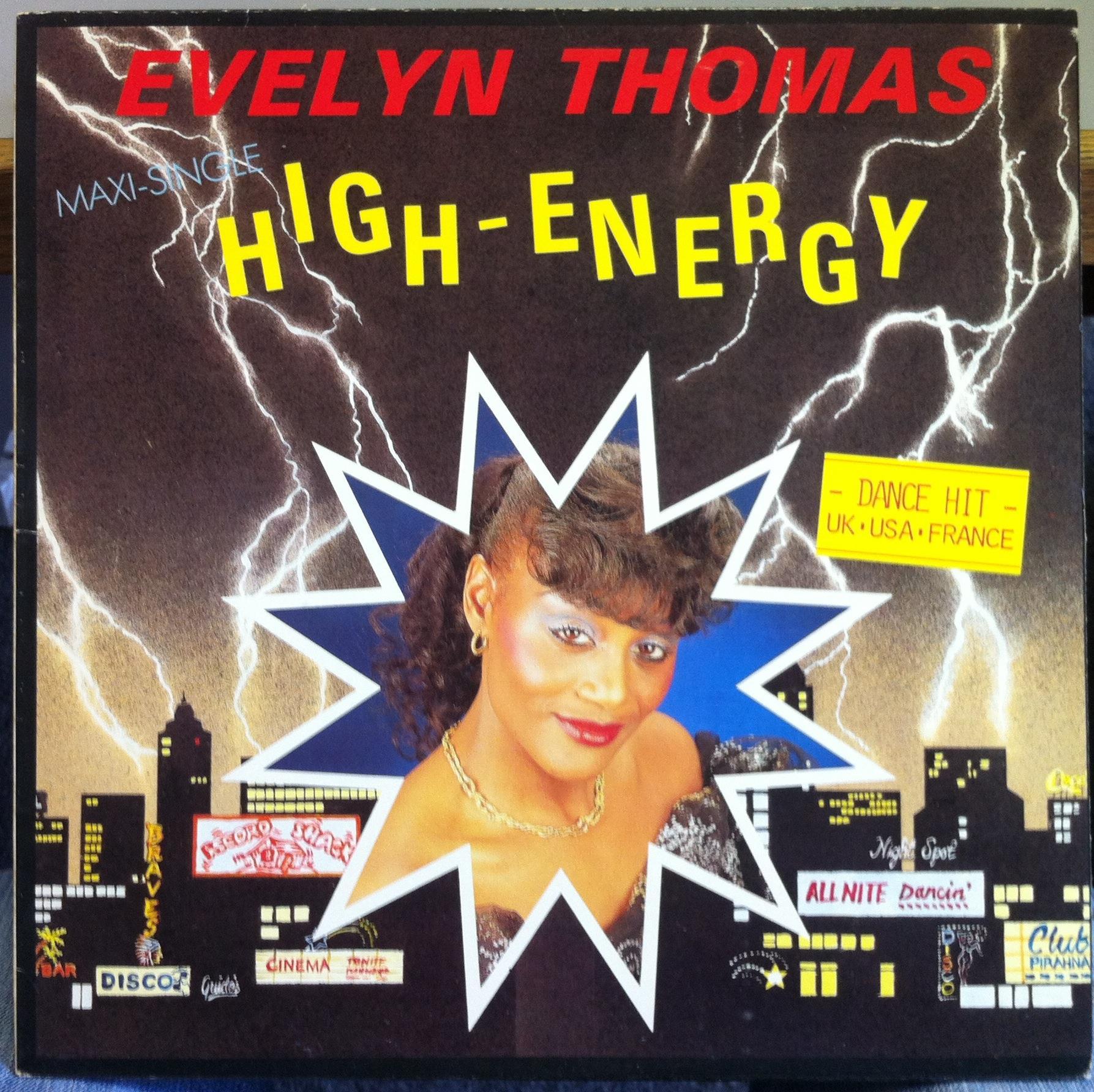 EVELYN THOMAS - High Energy - 12 inch 45 rpm