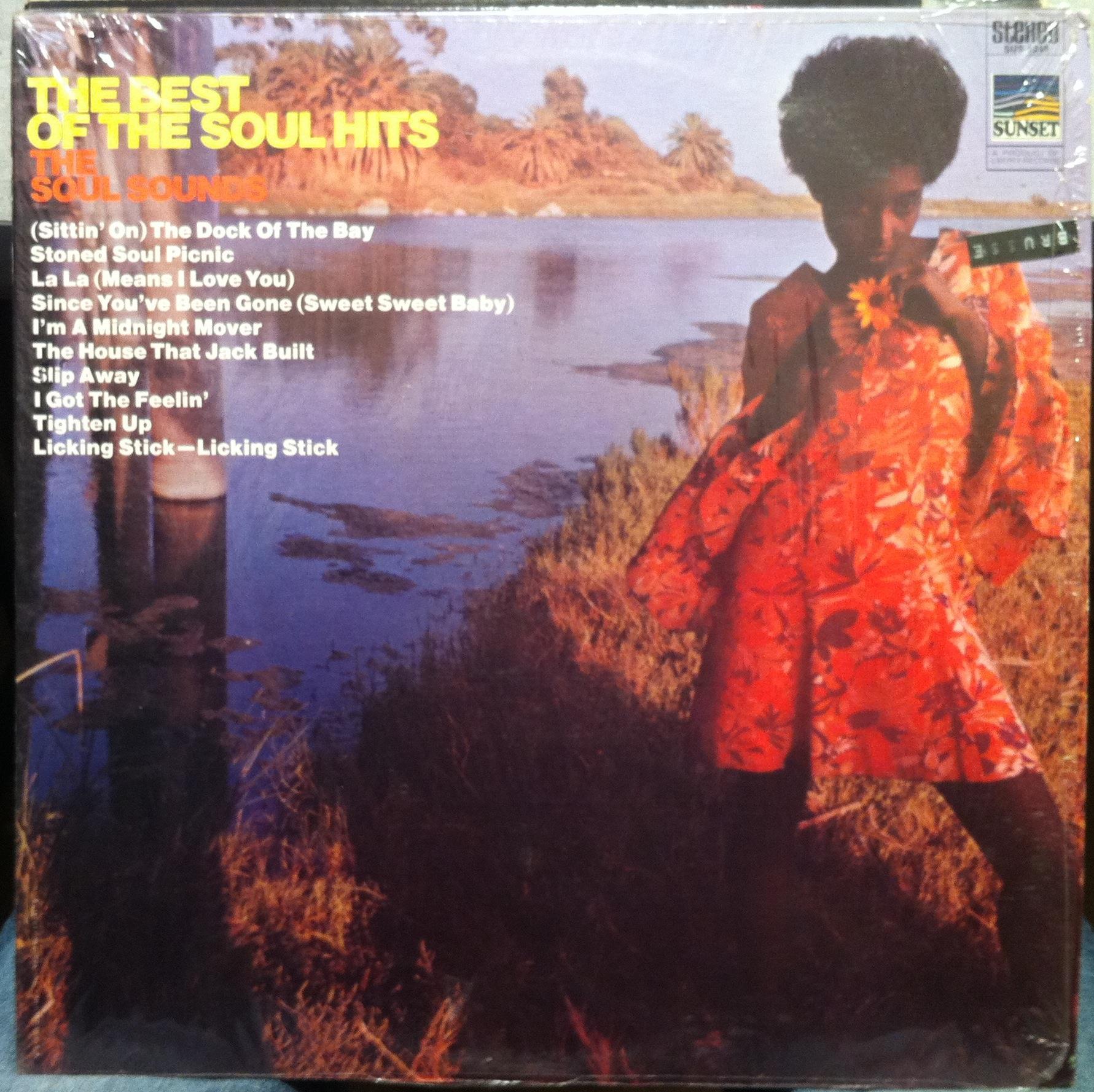 SOUL SOUNDS - The Soul Sounds Best Of Soul Hits Lp Vg Sus-5249 Vinyl 1969 Record (best Of Soul Hits)