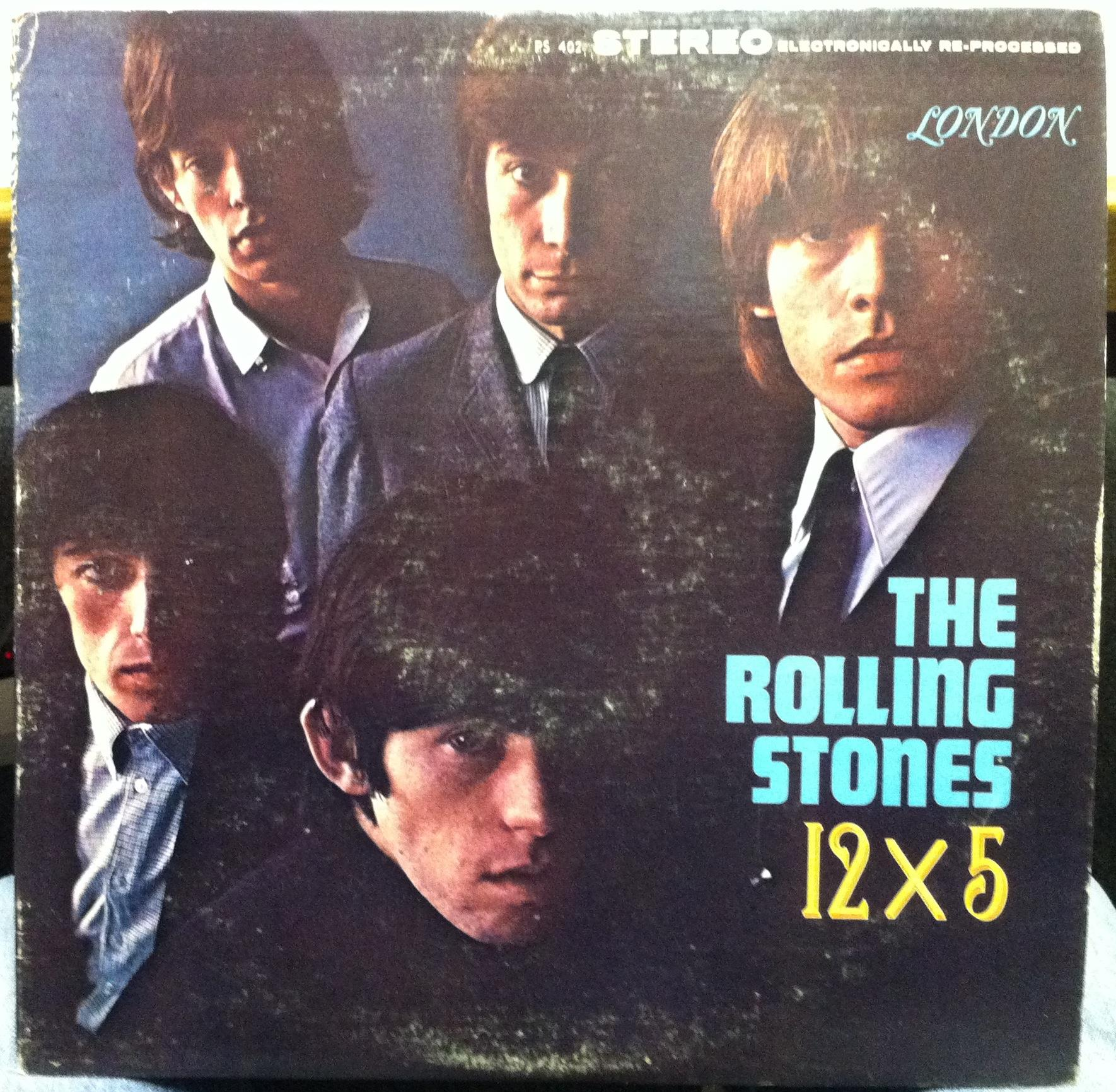 The Rolling Stones 12 X 5 Lp Vg Ps 402 Vinyl 1964 Stereo
