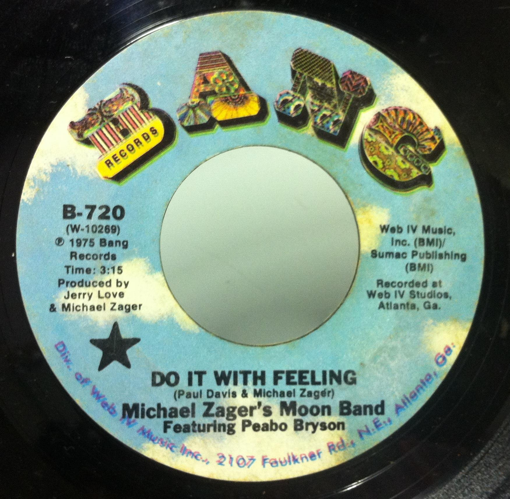 Michael Zager & The Moon Band - Do It With Feeling / This Is The Life