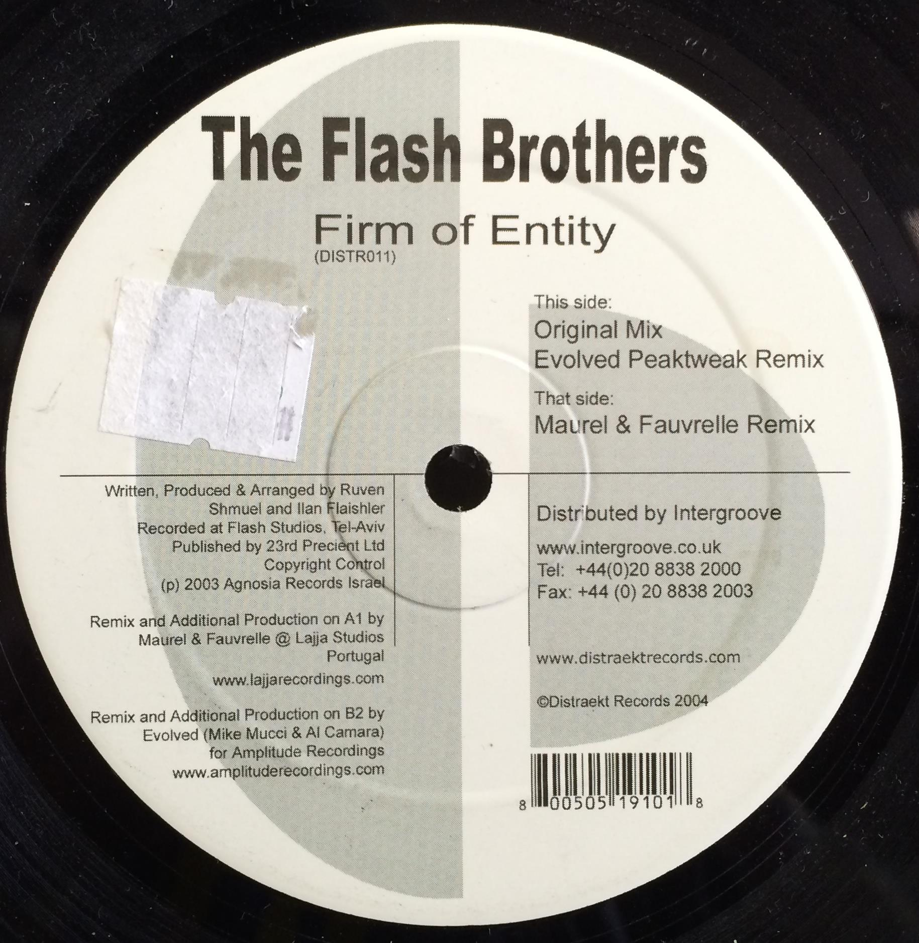 The Flash Brothers Firm Of Entity
