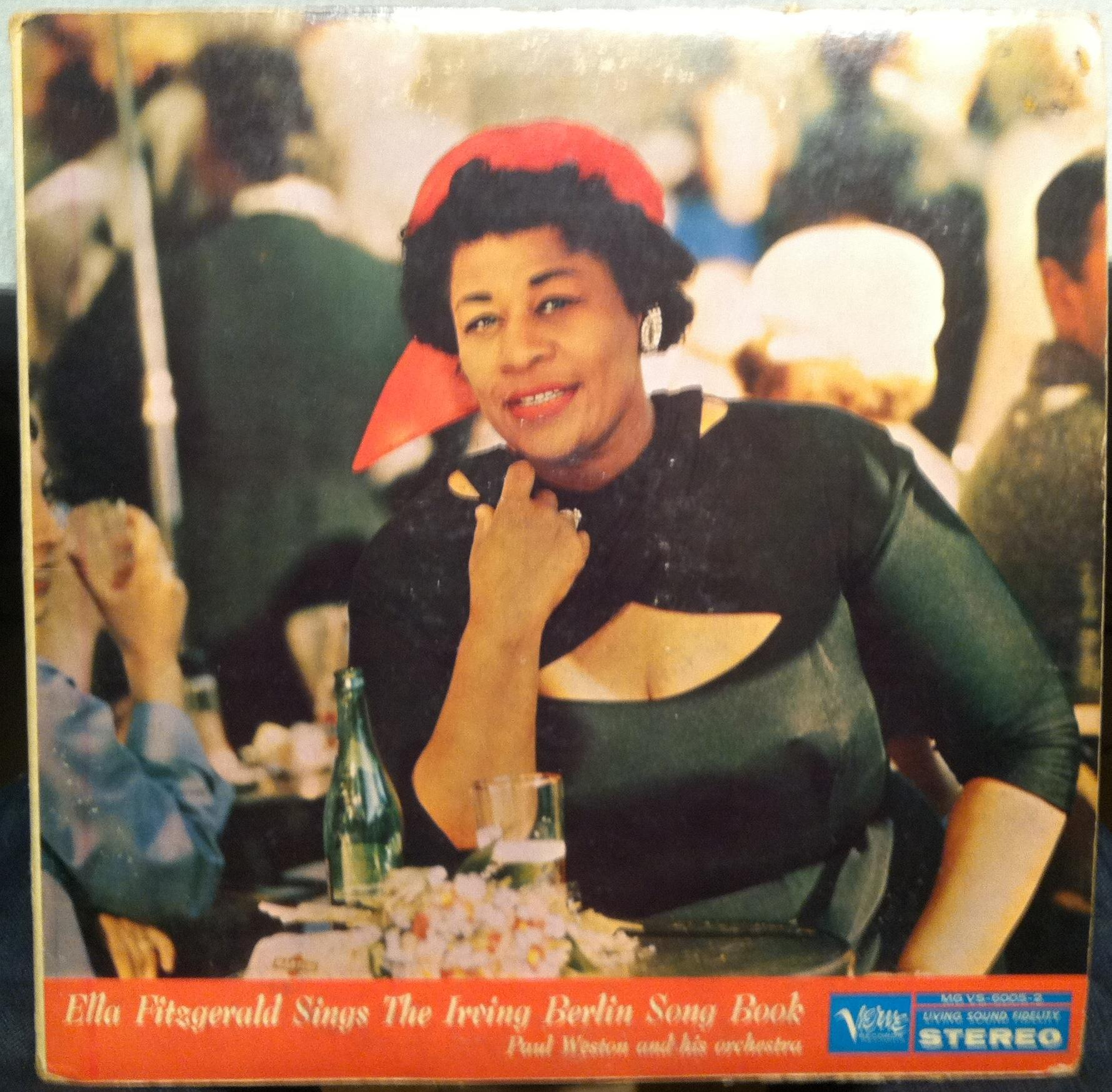 Ella Fitzgerald Sings Irving Berlin Song Book 2 Lp Vg Mg