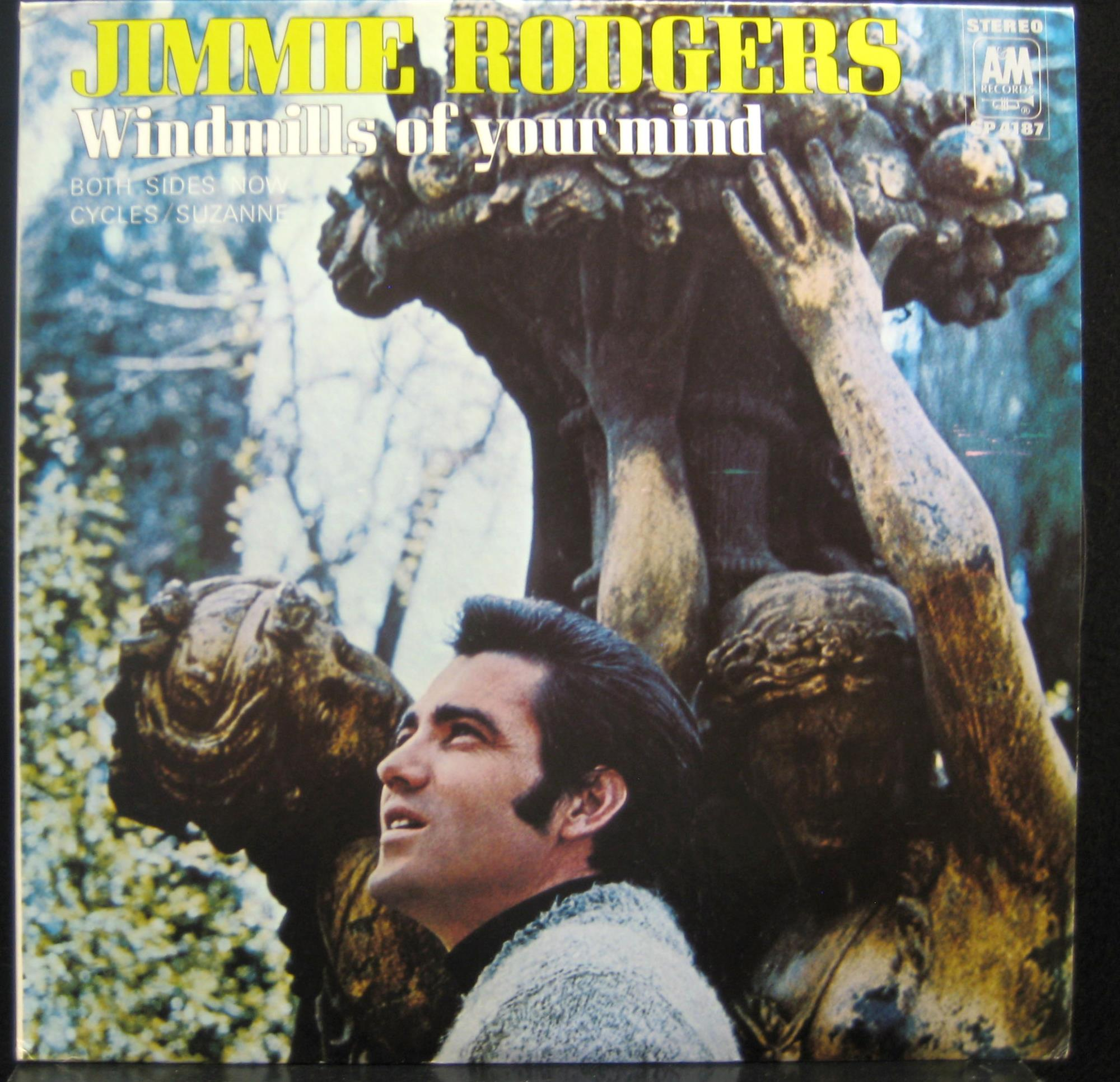 JIMMIE RODGERS - Windmills Of Your Mind Album