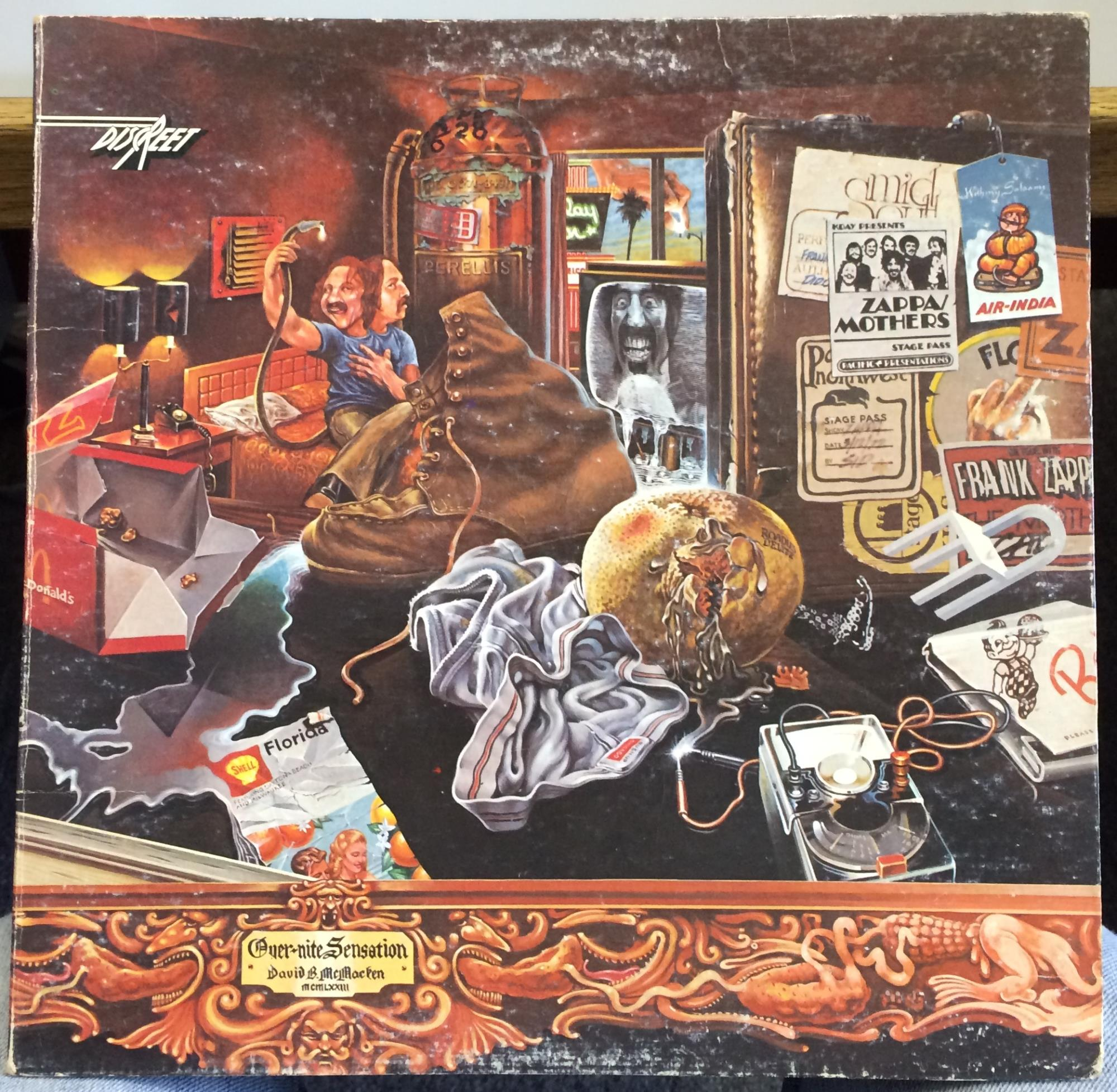 Over Nite Sensation De The Mothers Frank Zappa 33t Chez
