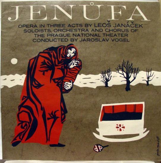 Vogel Janacek Jenufa Lp Vg Alpo 80 Vinyl Record Ebay