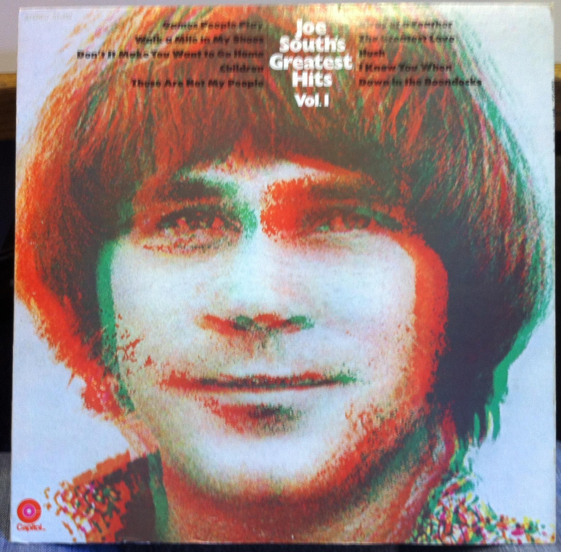 JOE SOUTHS - Joe Souths Greatest Hits Vol 1 Lp Vg St-450 Vinyl 1969 Record (greatest Hits Vol 1)