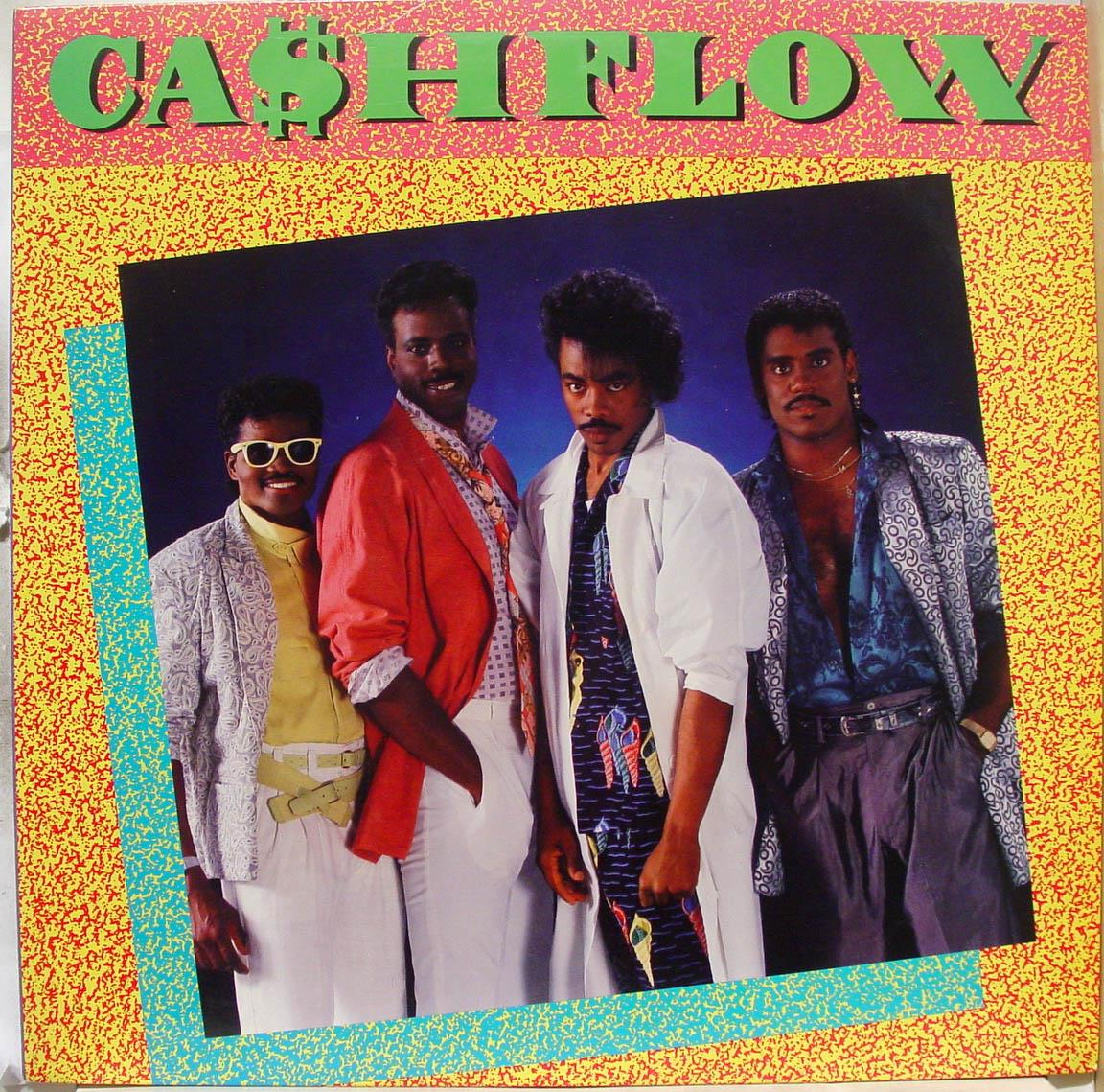 "CASHFLOW - Cashflow Mine All Mine 12"" Vg+ 884 722 1 Vinyl 1986 Record (mine All Mine)"