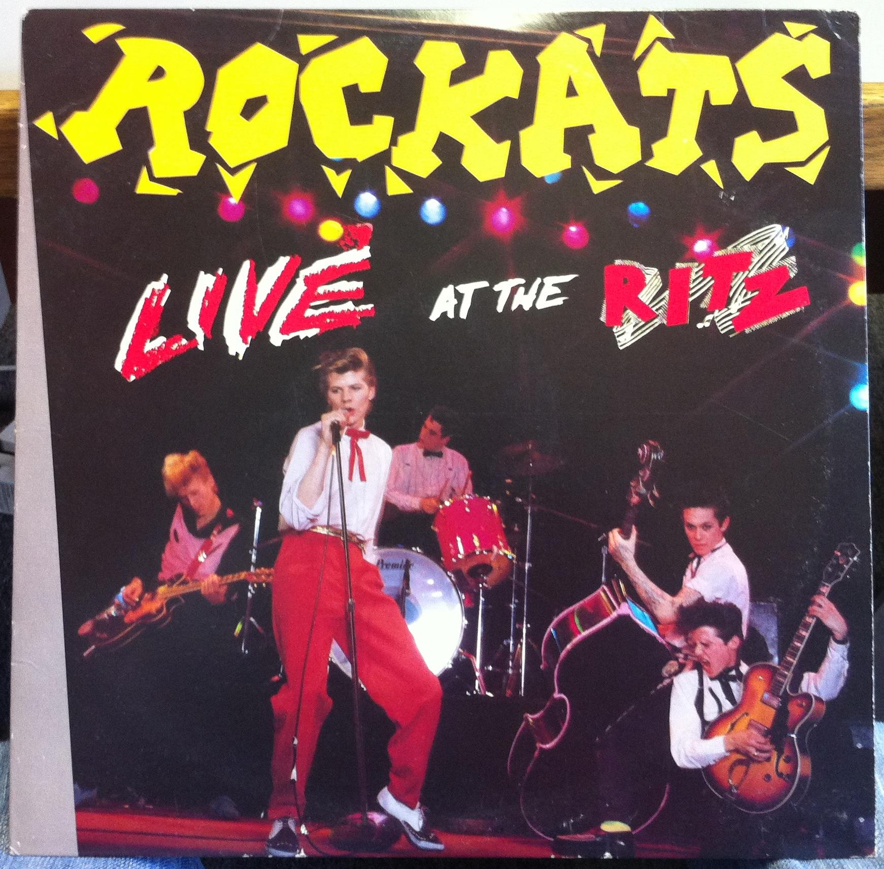 Image result for The Rockats - Live At The Ritz