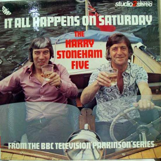 Harry Stoneham Five It All Happens On Saturday Lp Vg