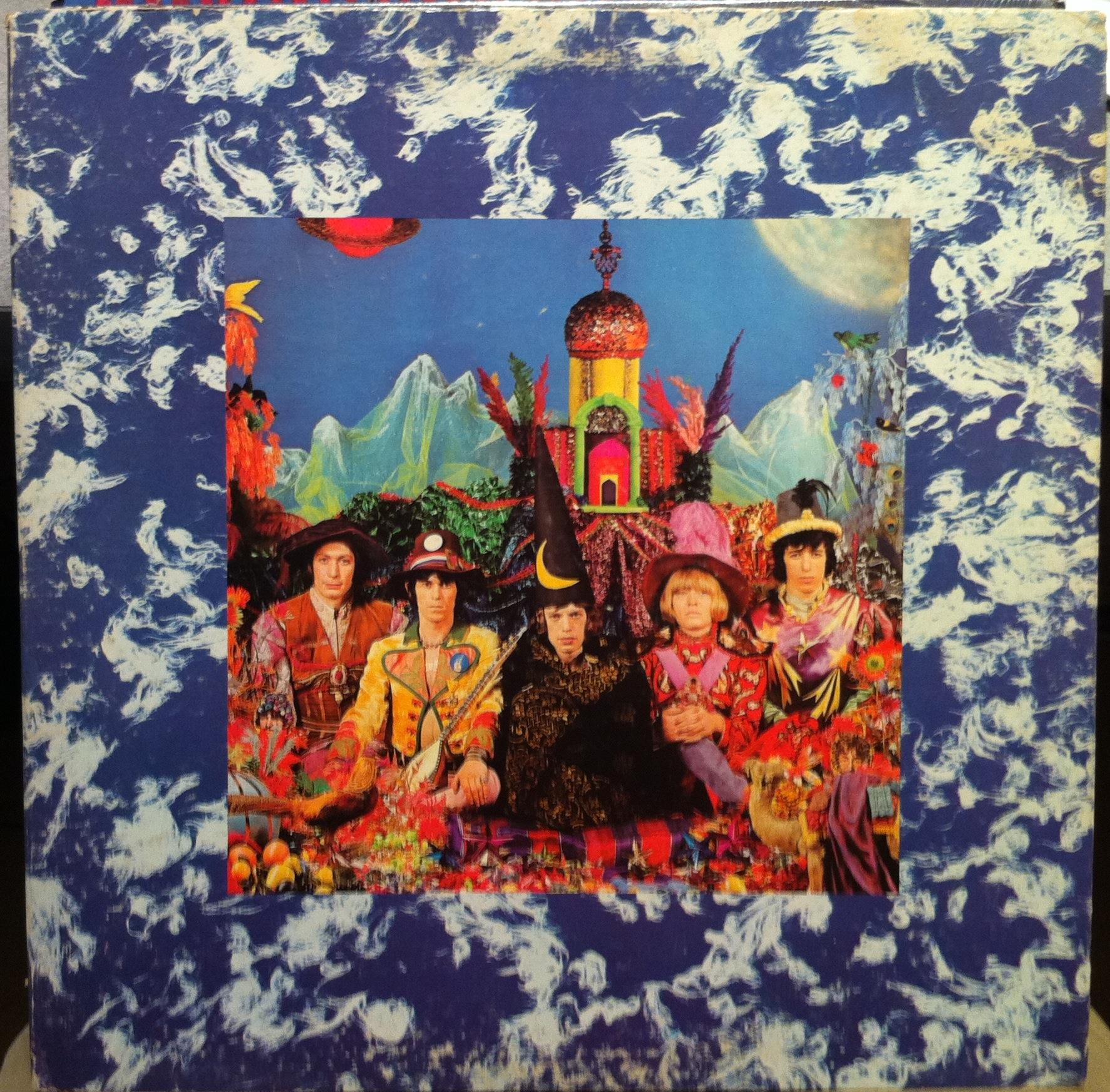 Rolling Stones - The Rolling Stones Their Satanic Majesties Request Lp Vg+ Nps-2 Stereo Vinyl '67 (their Satanic Maje