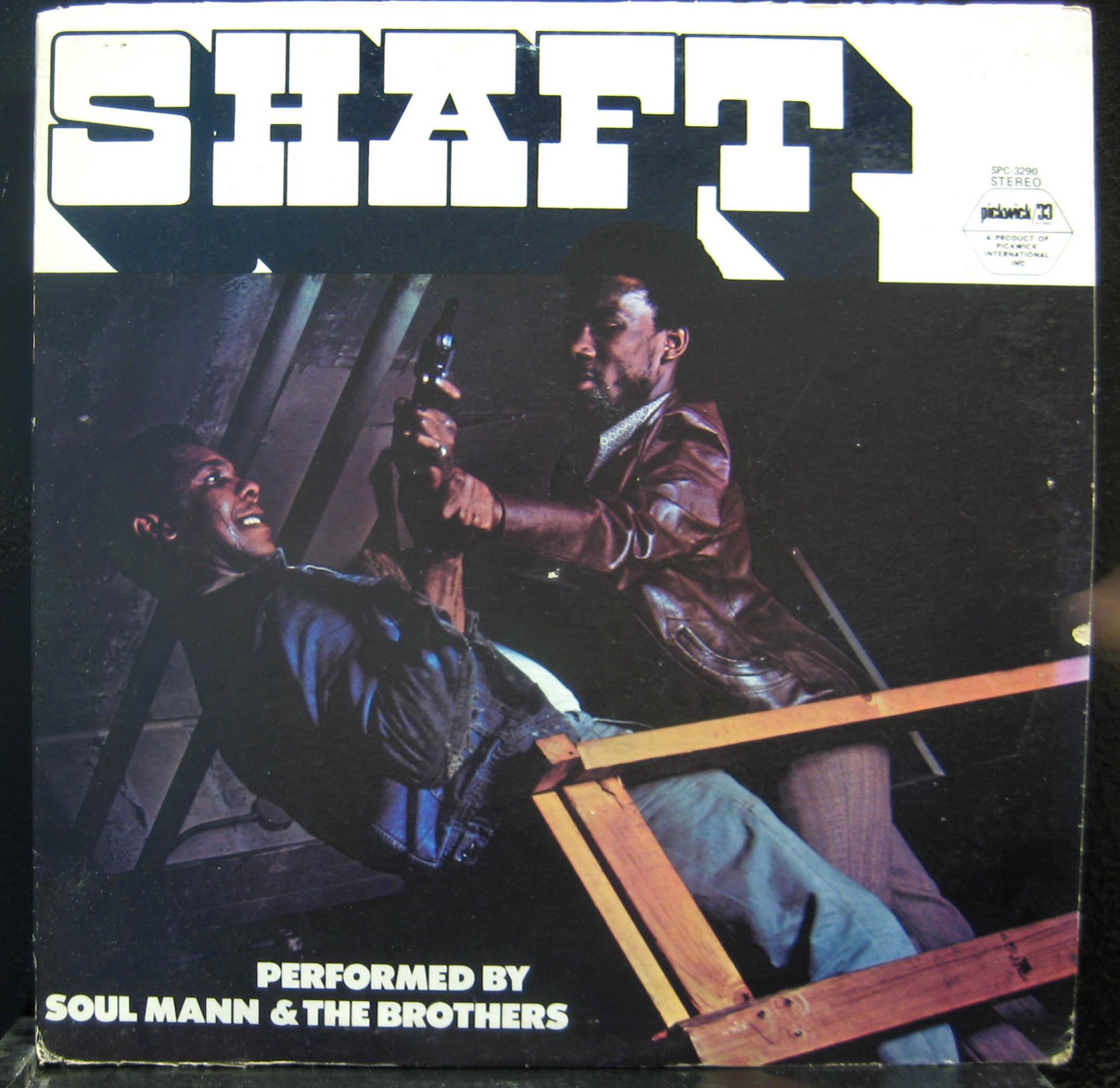 SOUL MANN & THE BROTHERS - Soul Mann & The Brothers Shaft Lp Vg+ Spc 3290 Vinyl 1971 Record (shaft)