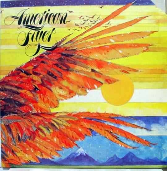 AMERICAN FLYER - American Flyer S/t Debut Lp Mint- Ua La650 G Vinyl 1976 Record (s/t Debut)