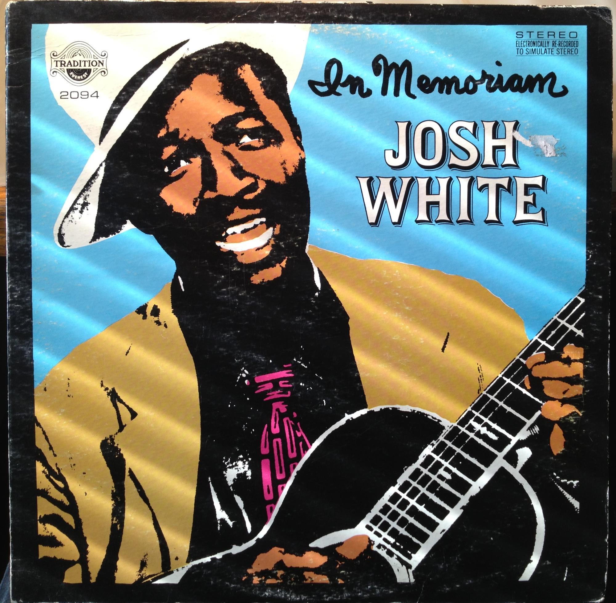 JOSH WHITE - Josh White In Memoriam Lp Vg+ Tr 2094 Vinyl Record (in Memoriam)