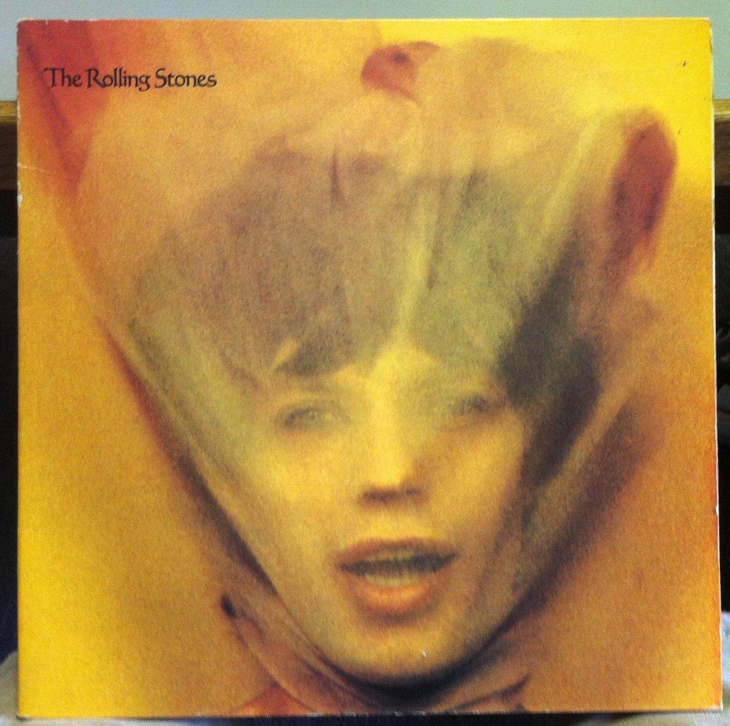 The Rolling Stones Goats Head Soup Lp Vg W Poster Coc