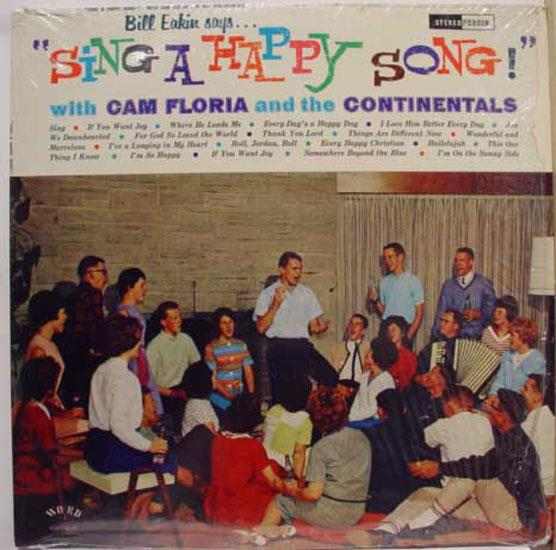Cam Floria And The Continentals Sing A Happy Song Lp Vg