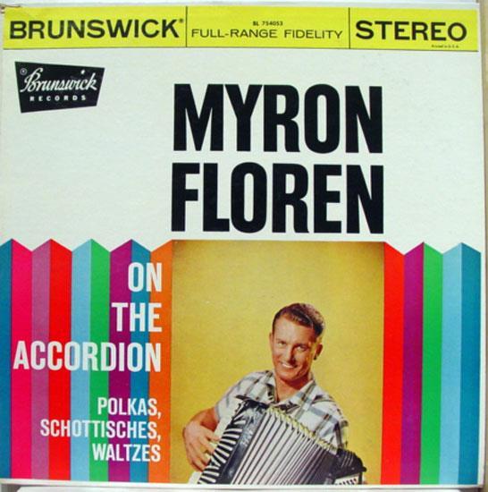 MYRON FLOREN - Polkas, Schottisches, Waltzes