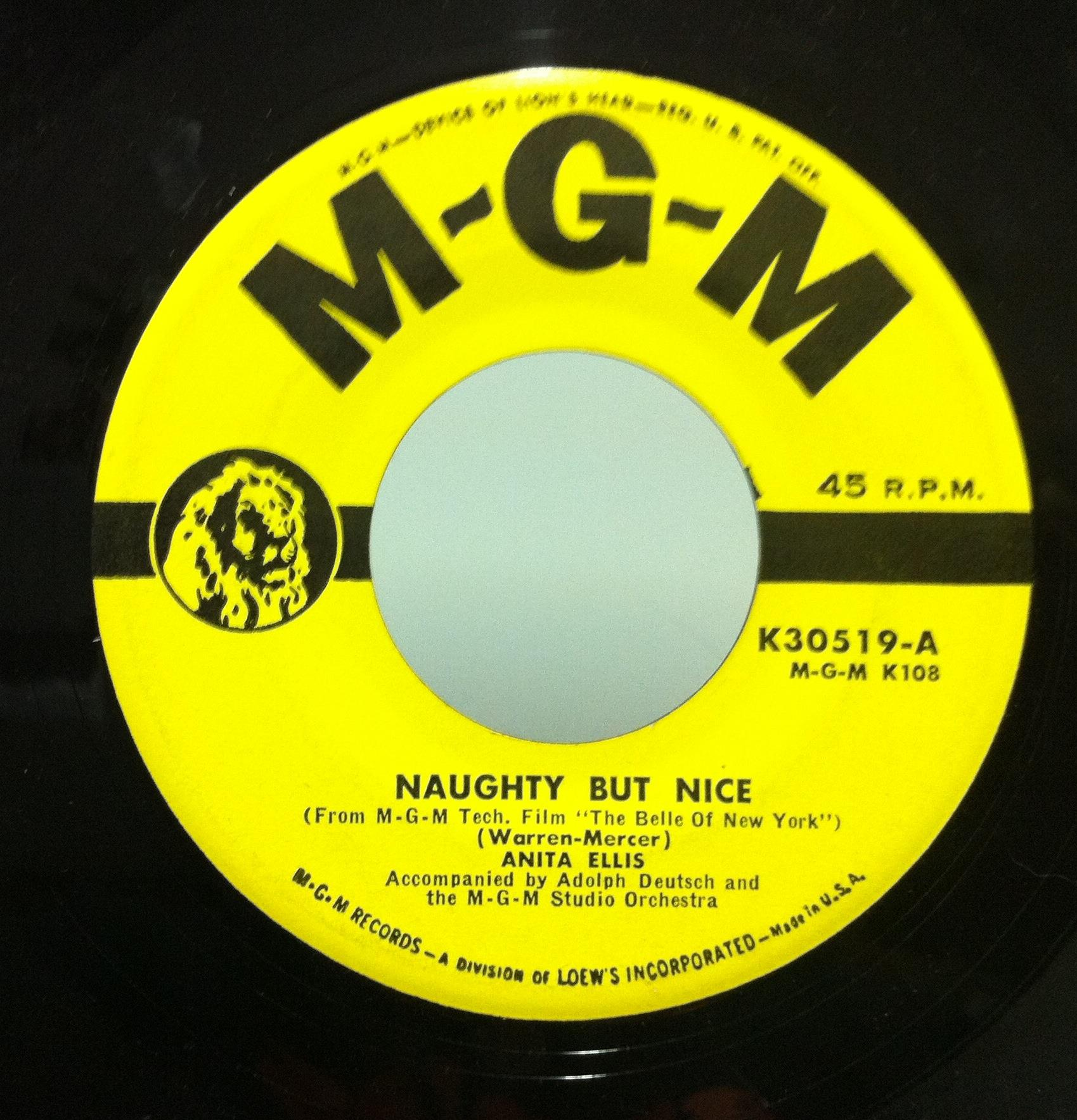 naughty by nice a bride s wedding day song by anita ellis 7inch x