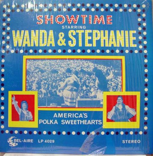Vg Wanda And Stephanie Showtime Polka Sweethearts Lp 4029 Polka showtime Polka Sweethearts