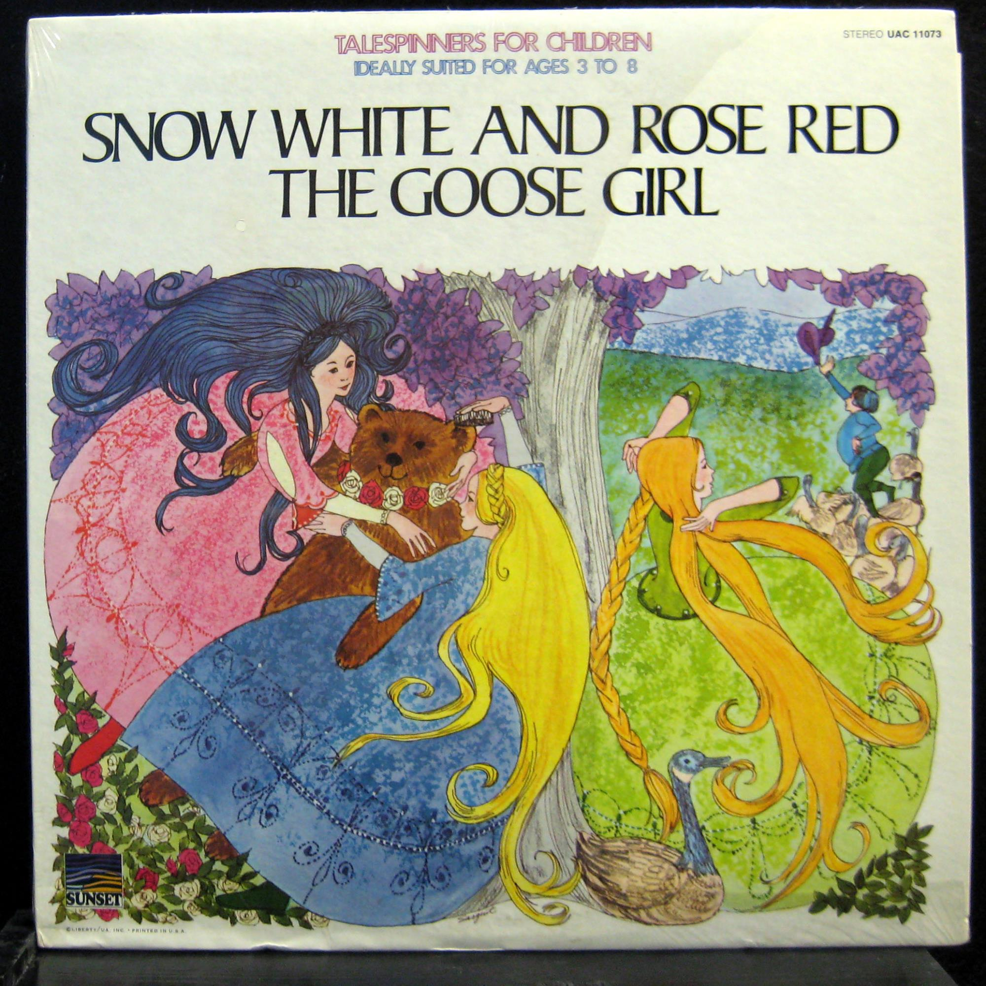 talespinners snow white rose red goose girl lp vg uac. Black Bedroom Furniture Sets. Home Design Ideas