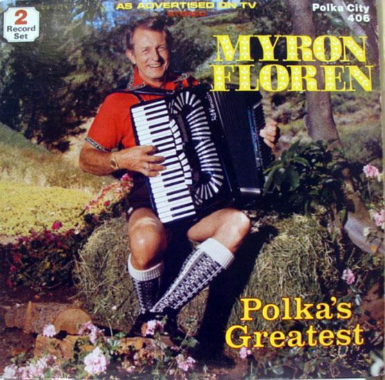 Polka's Greatest - MYRON FLOREN