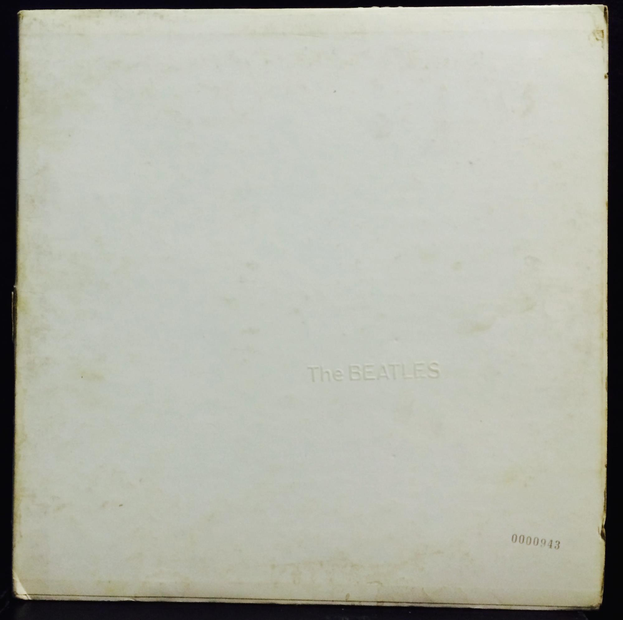 The beatles white album 2 lp vg swbo 101 us low 0000943 photos label apple records format33 rpm 12 lp stereo country united states vinyl condition vg cover condition vg year released 1968 lp quantity 2 maxwellsz